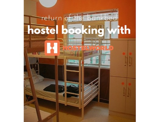 Booking a Hostel with HostelWorld