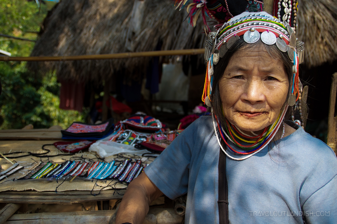 Fun Things to do in Chiang Mai - Thai Woman Selling Crafts