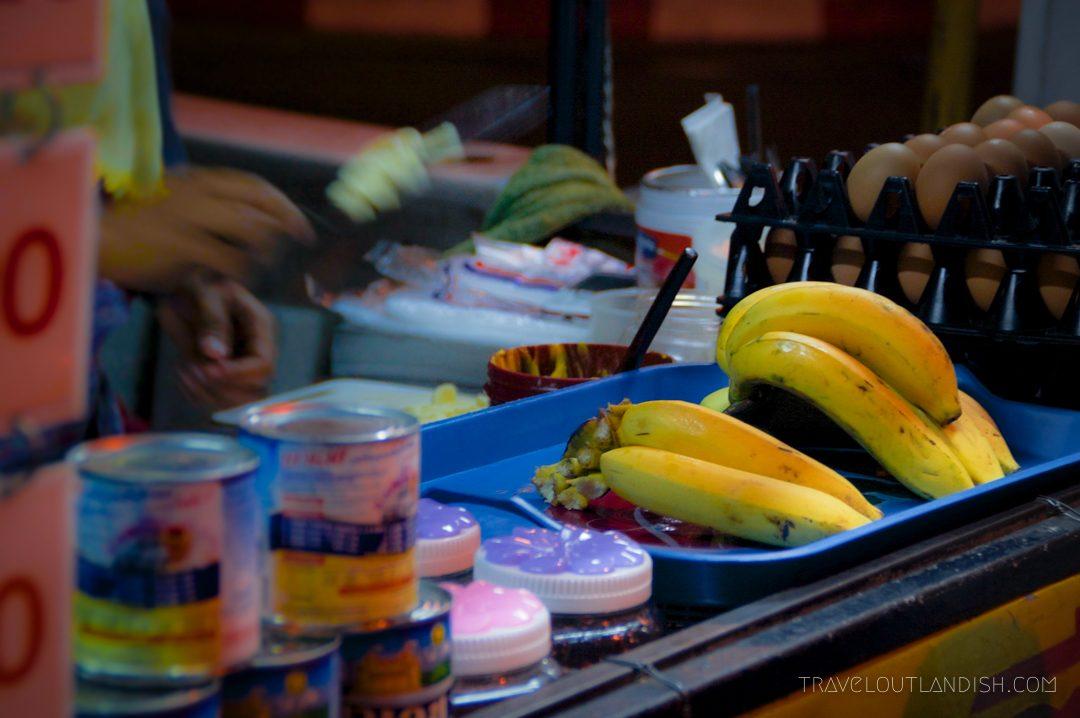 Roti at the Night Market