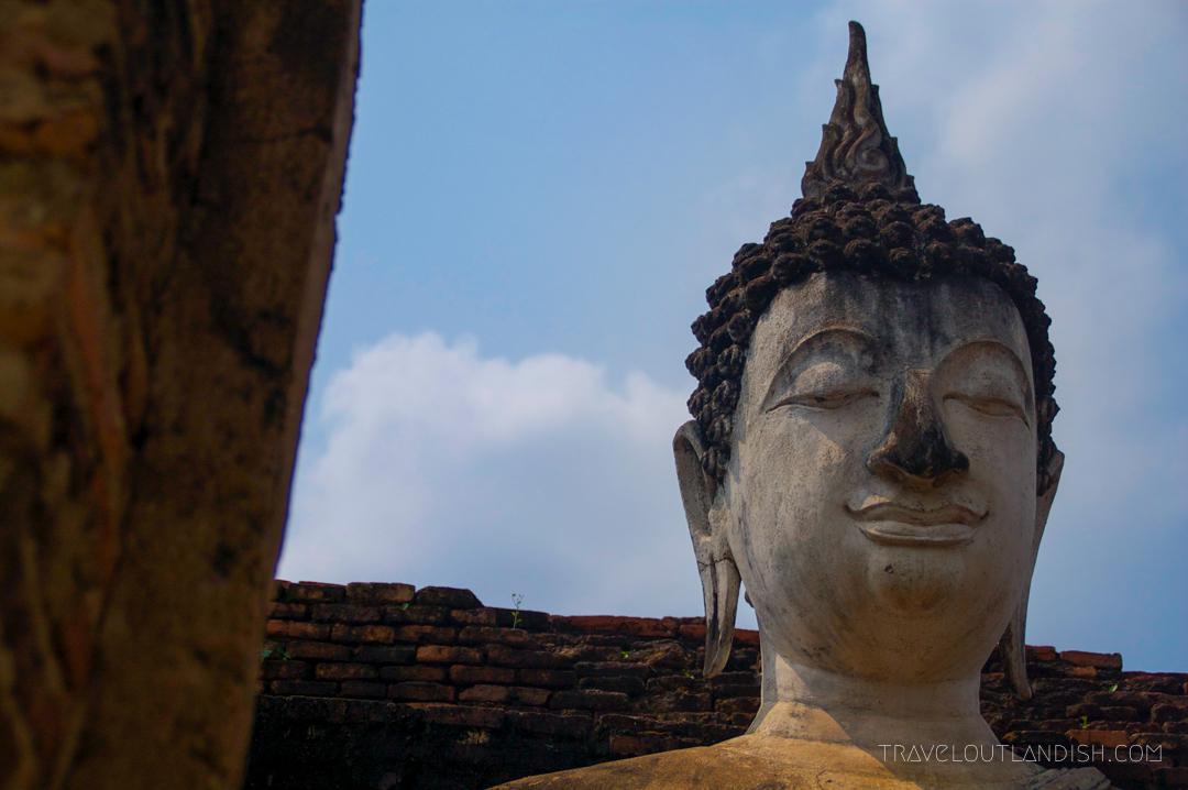 Buddha's Head at Sukhothai