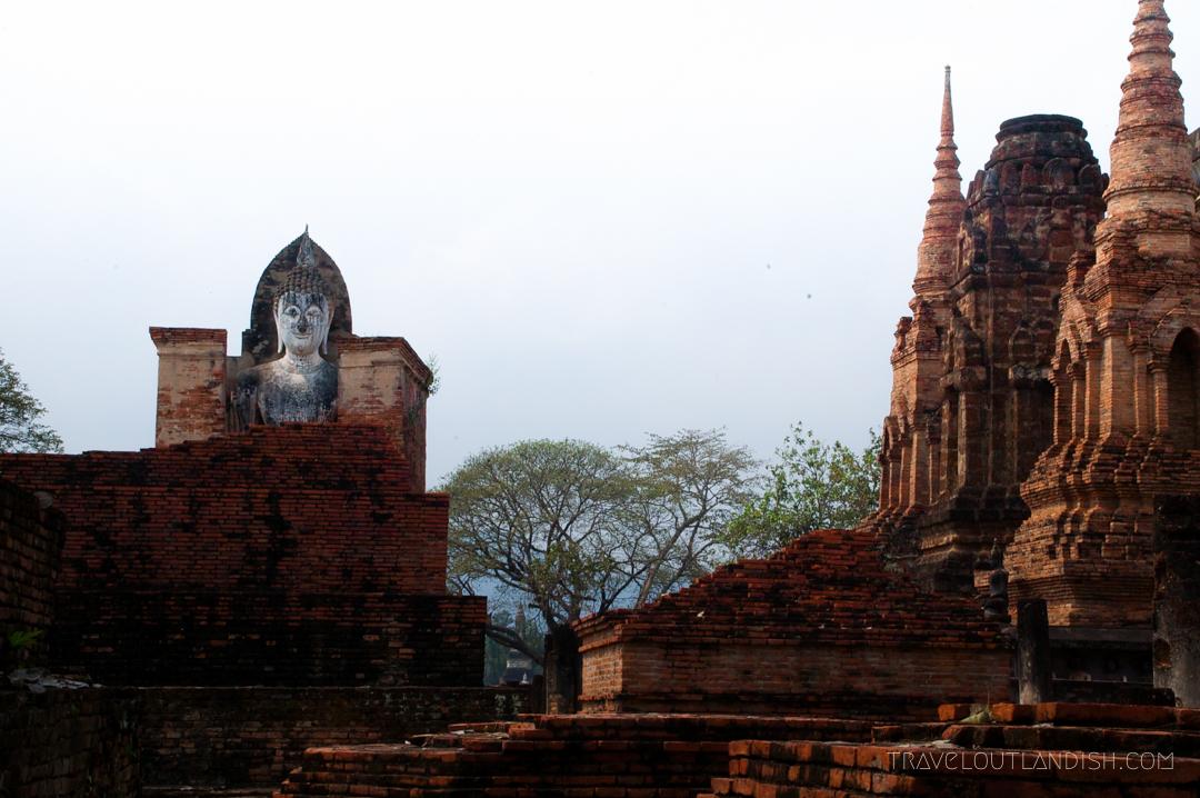 Looking out at Sukhothai