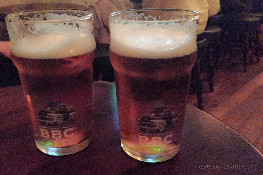 Beers at Bogota Beer Company