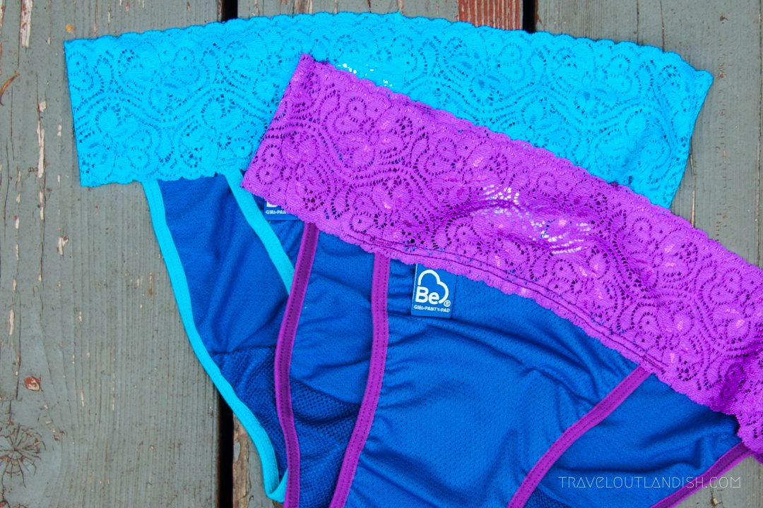 Closer view of Be Girl Period Underwear
