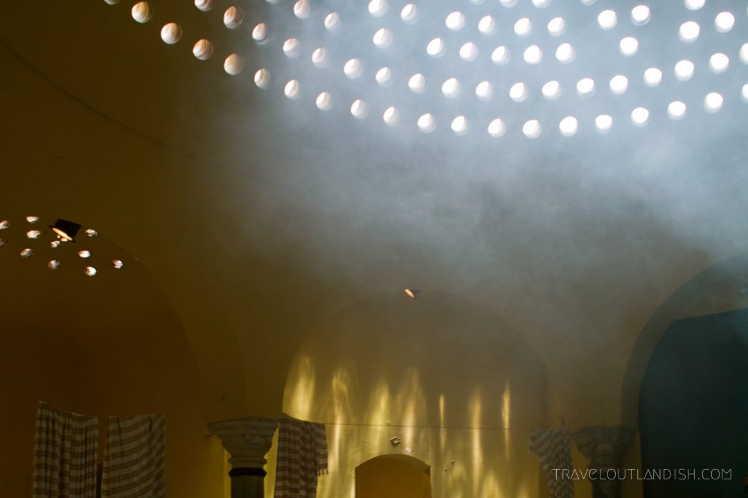 Steam in a Moroccan Hammam