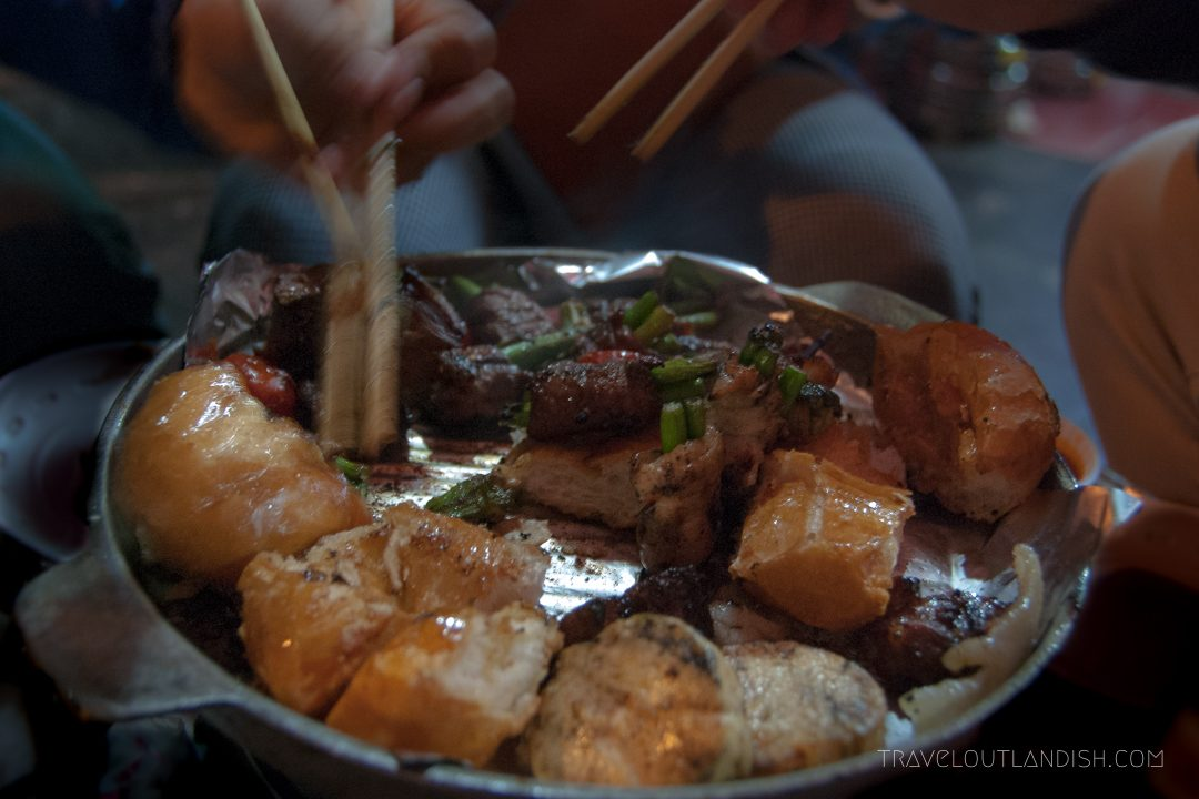 Northern Vietnamese Street Food - Street BBQ in Hanoi