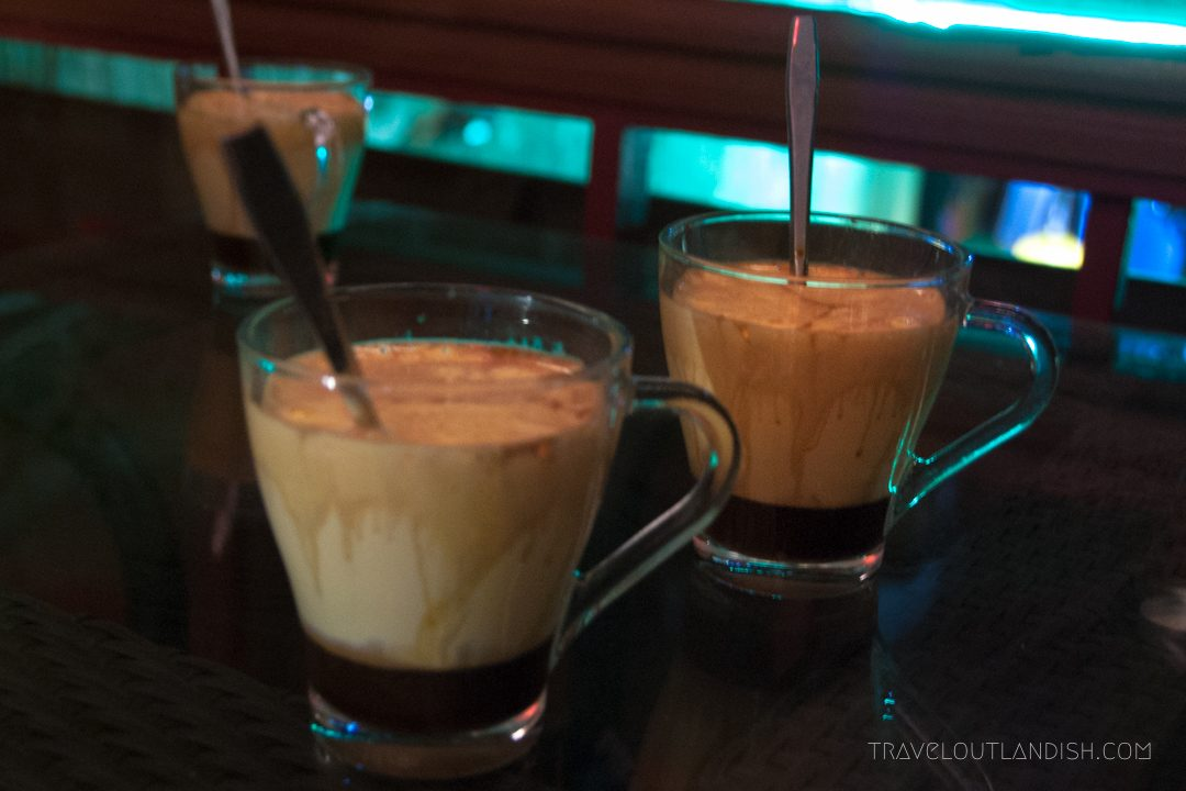 Northern Vietnamese Street Food - Egg coffee in Hanoi