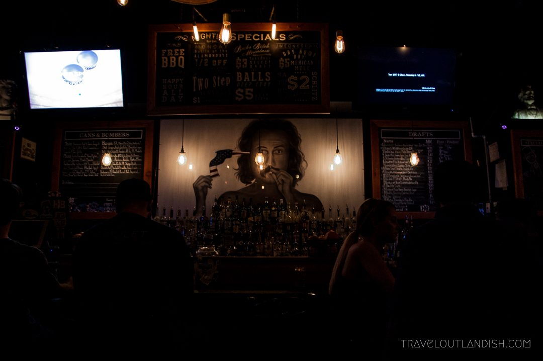 Fun Things to do in Austin - The Bar at Handlebar