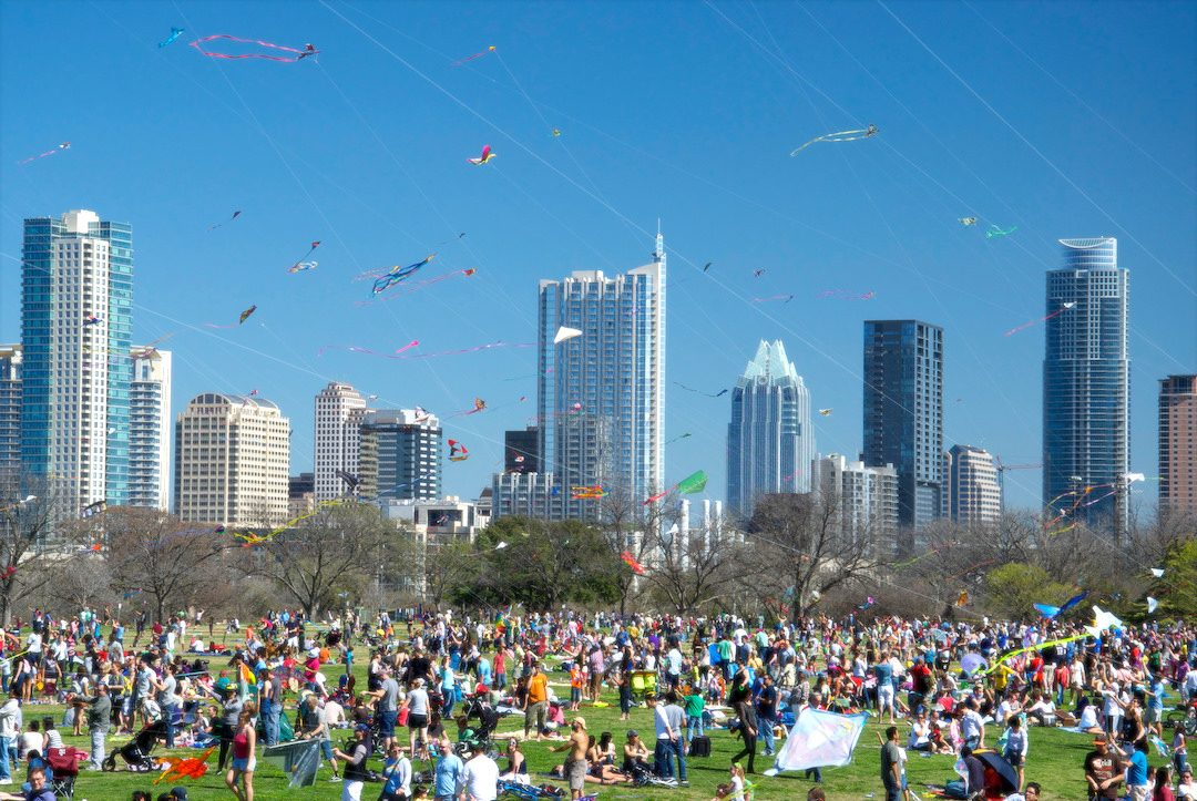Fun Things to do in Austin - Zilker Kite Festival