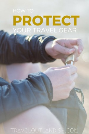 Are you headed on a backpacking trip? Come rain, bus accident, or scheisty pick pocketer, we're sharing 5 easy ways you can protect your best travel gear.