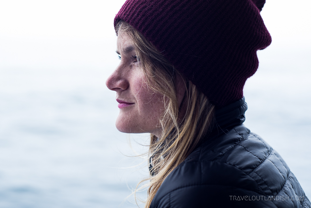 Whale Watching in Monterey: Taylor Looking for Whales
