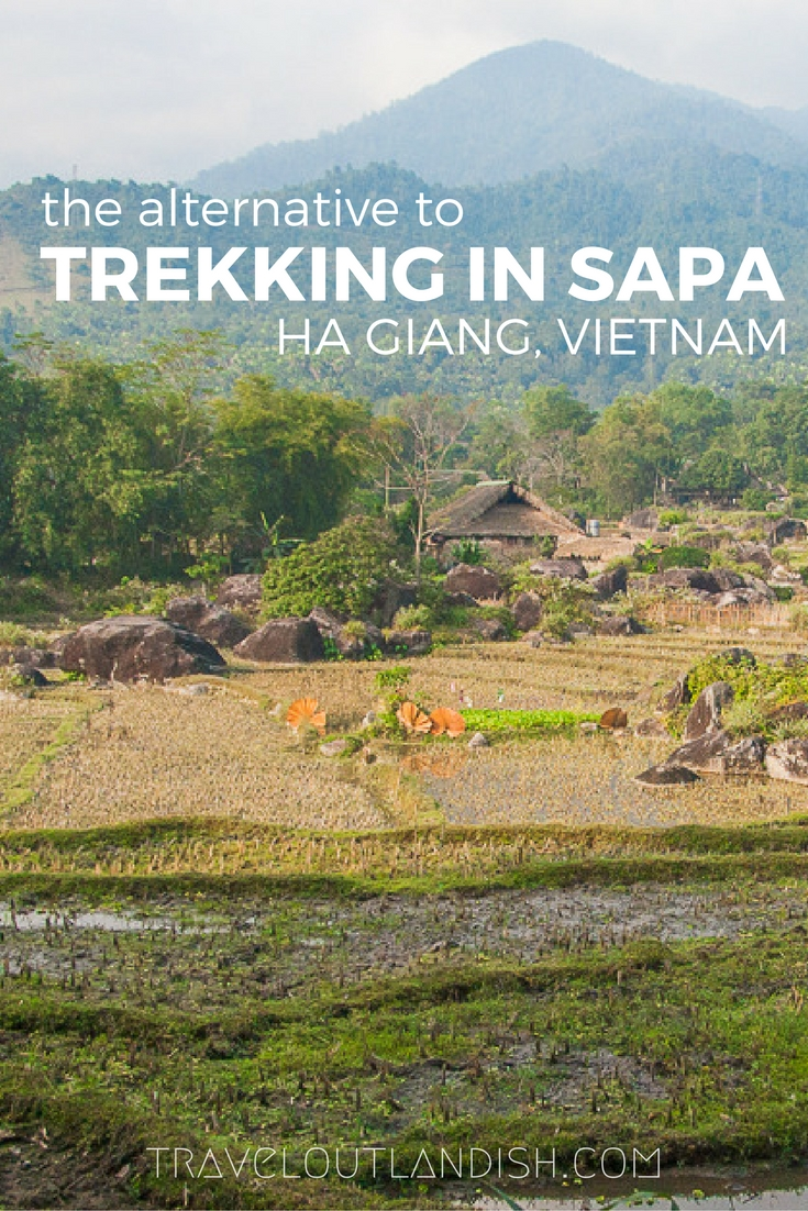Far out of the way, Ha Giang is an adventurous alternative to trekking in Sapa. How to get there, trekking routes, and where to stay in Ha Giang.