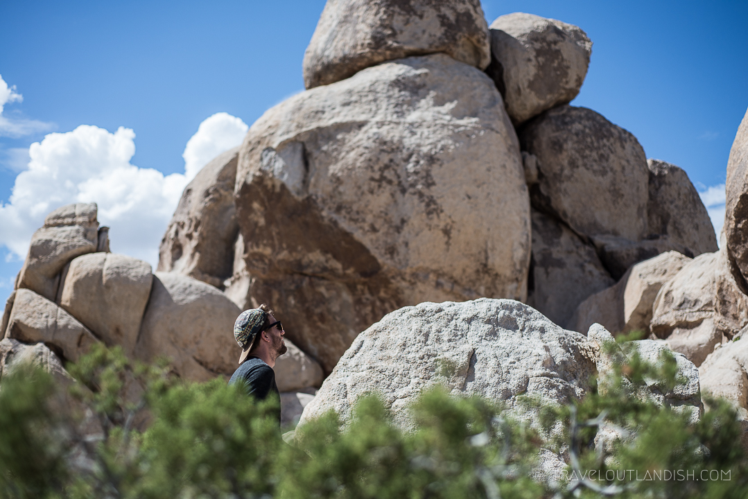 Things to do in Joshua Tree - Daniel in the Hall of Horrors