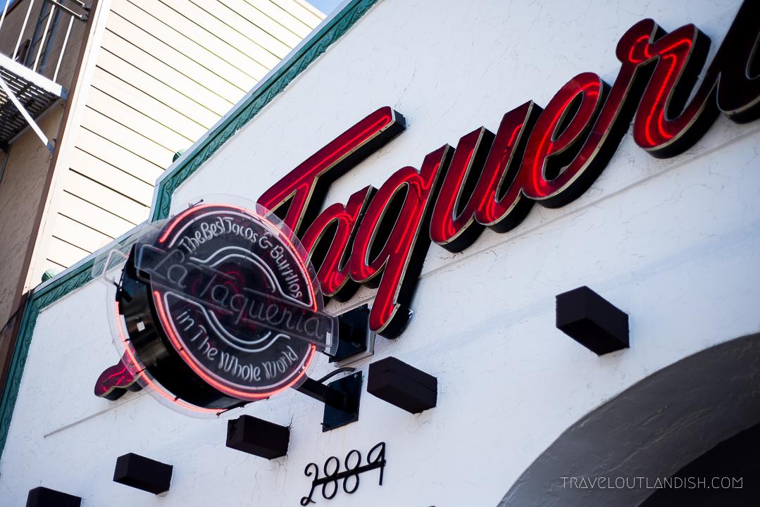 La Taqueria in San Francisco