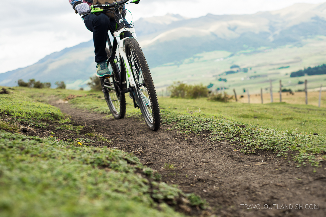 Mountain Biking in Cotopaxi, Ecuador