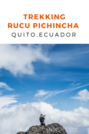Just outside of Quito, you can summit the [literally] breathtaking Rucu Pichincha at 15,413 ft. A guide to trekking Rucu Pichincha, one of the best treks in Ecuador!