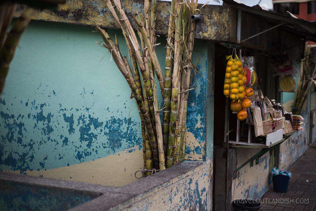Sugar Cane Juice Stand
