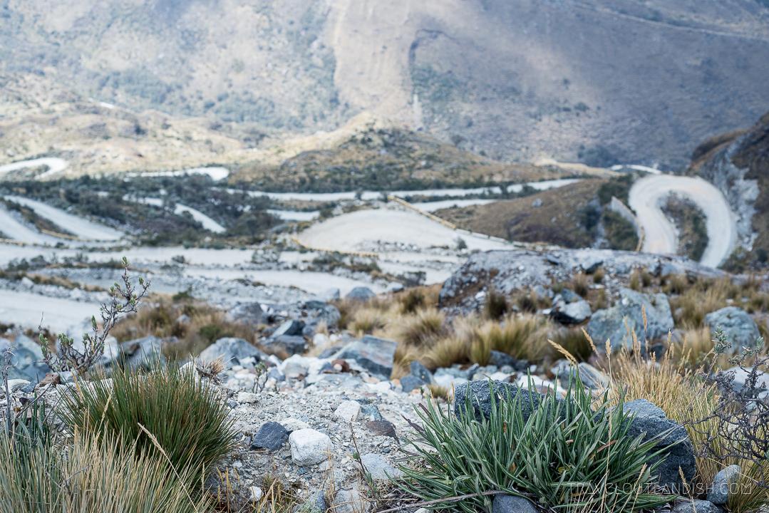The Road to the Santa Cruz Trek