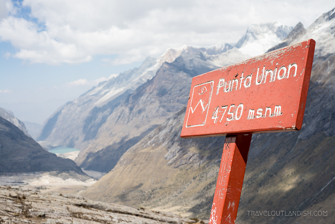The Santa Cruz Trek - Punta Union