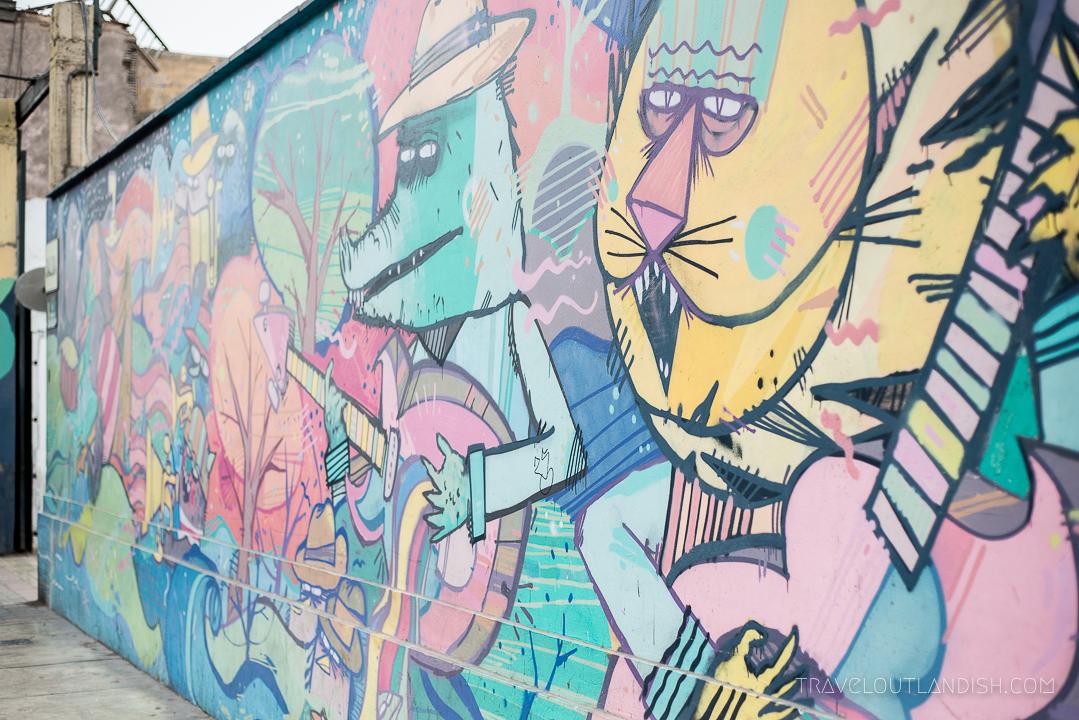 Street Art in Lima