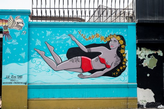 Street Art in Lima - Mural by Stfi!