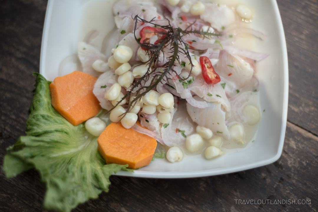 Best Street Food - Eating Ceviche in Peru