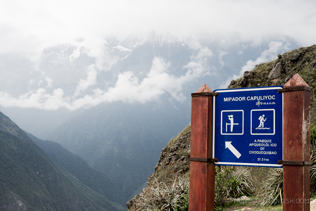 The Choquequirao Trek - Peru