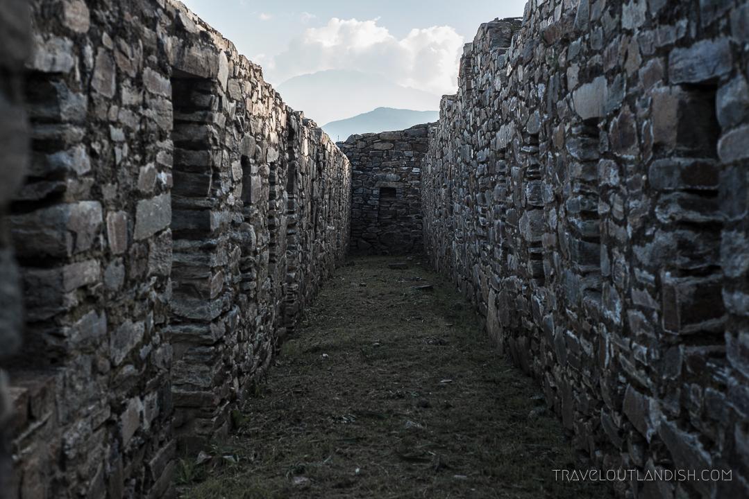 Choquequirao Ruins - Long Corridor at Choquequirao