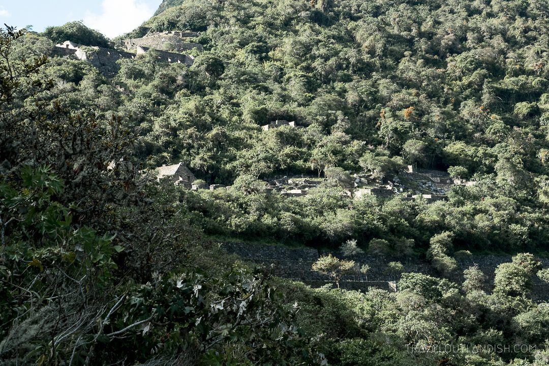 Choquequirao Ruins in Peru - View of the Park