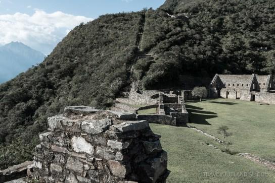 Choquequirao Ruins in Peru - View of the Plaza