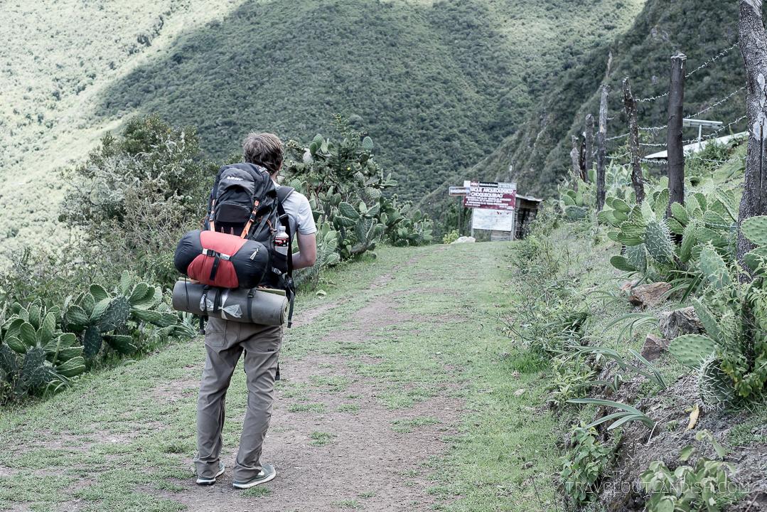 The Choquequirao Trek - Daniel Backpacking