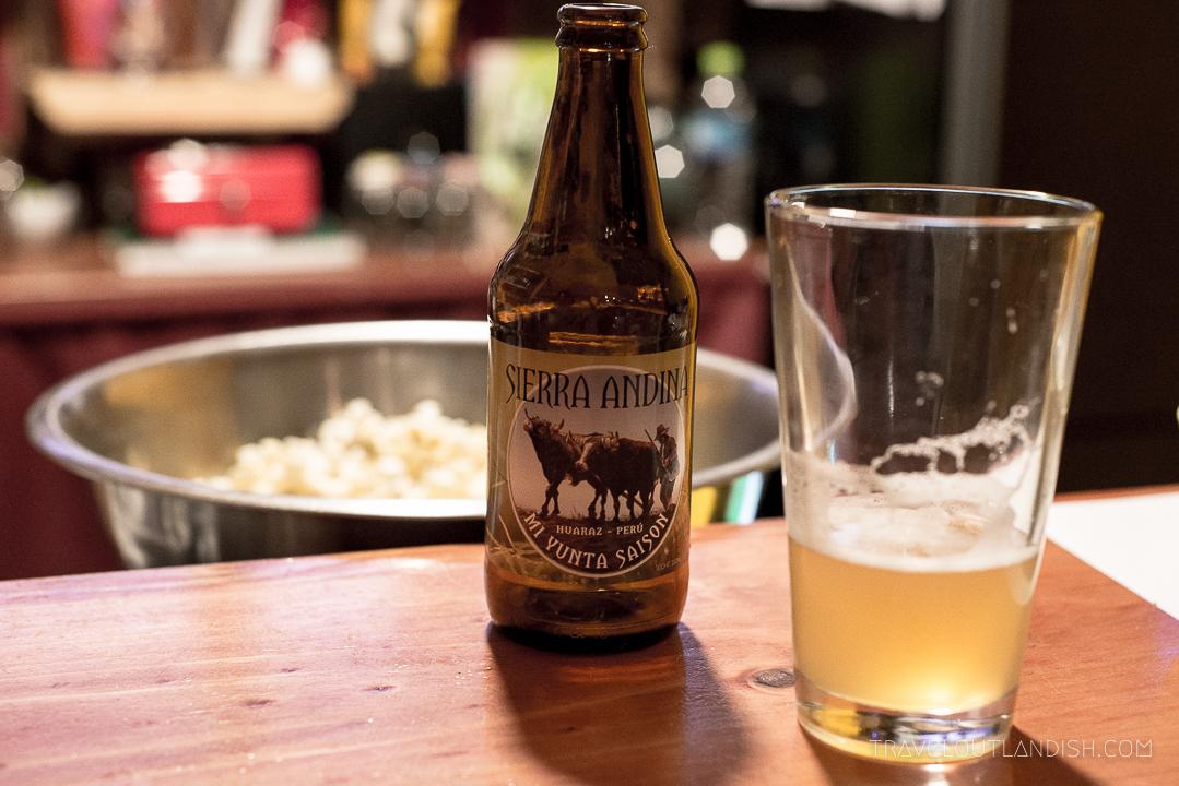 Peruvian Beers - Sierra Andina