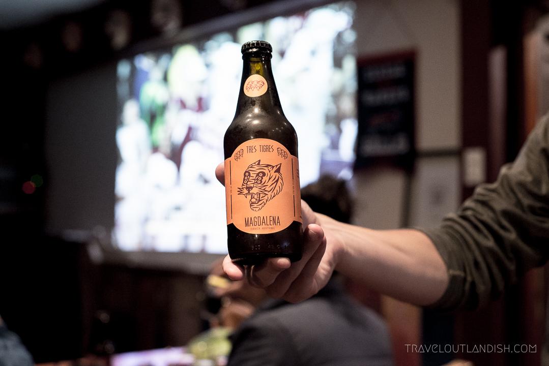 Peruvian Beers - Tres Tigres