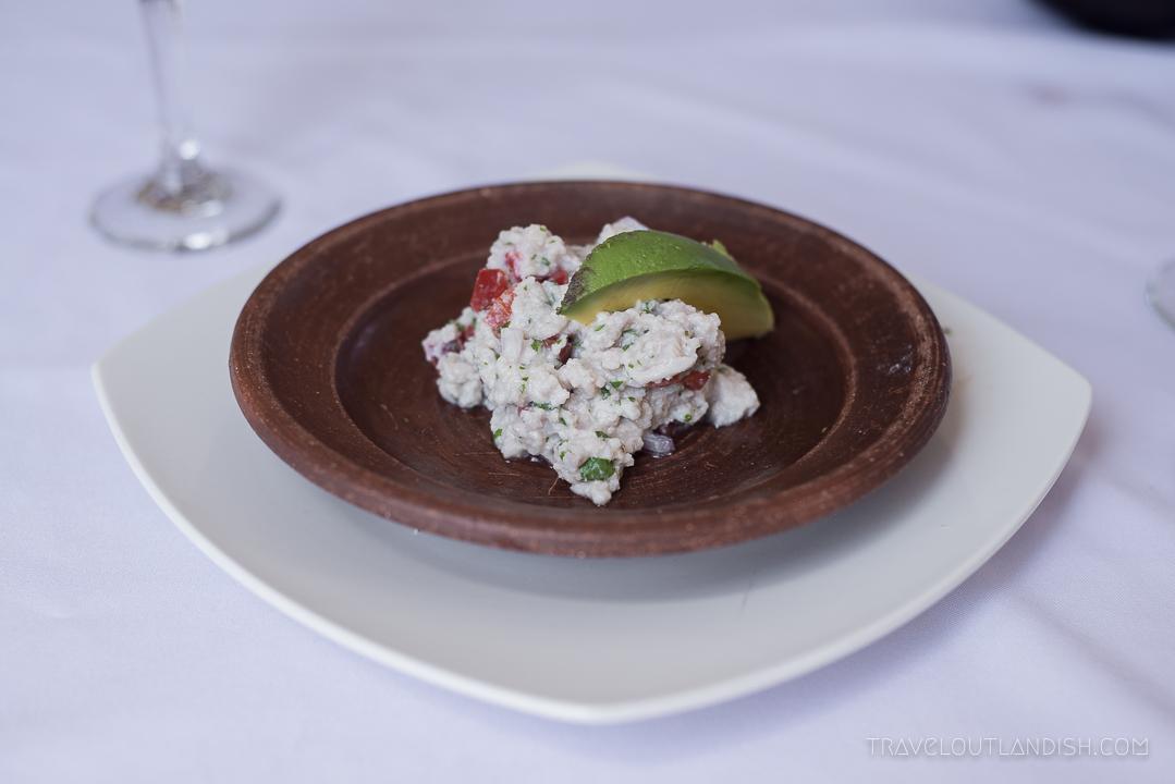 Chilean Cuisine - Ceviche
