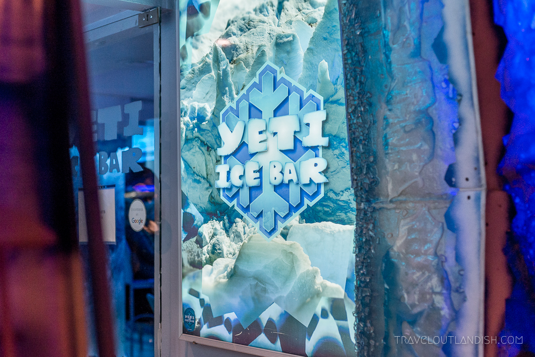 Ice Bar Argentina - Entrance