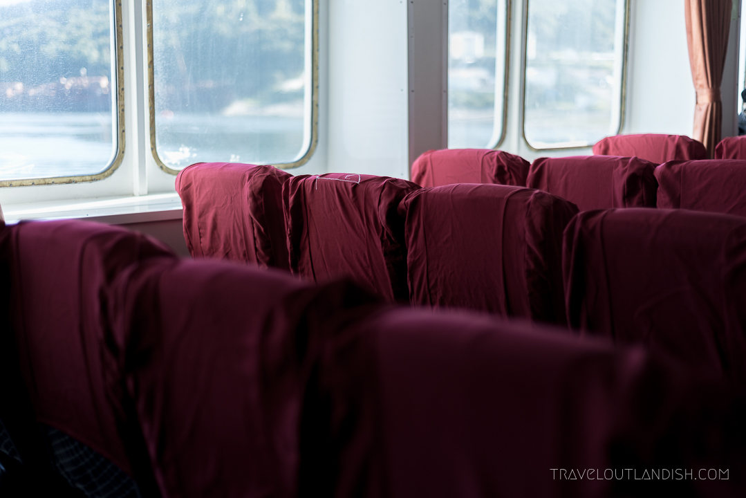 Naviera Austral Ferry - Interior Seats