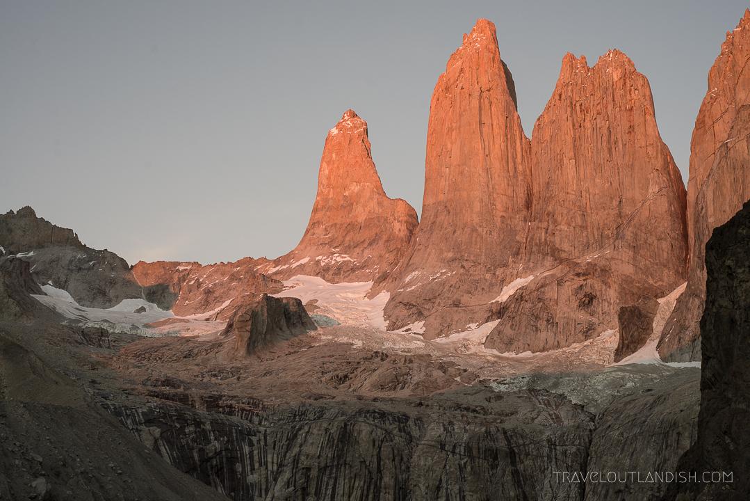 Buff Headwear - Sunrise at Torres del Paine