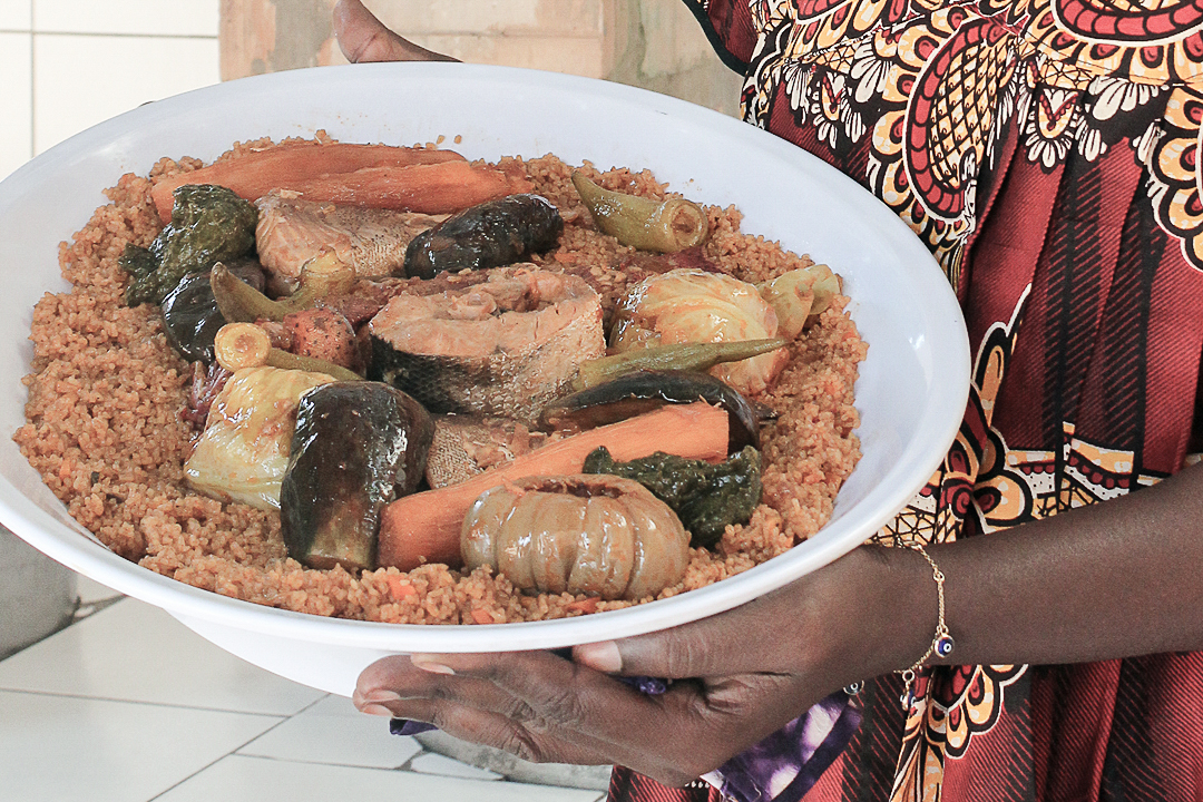Tanji Fish Market - Local Dish