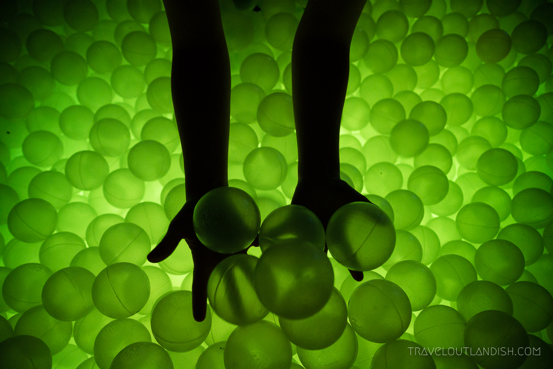 Ball Pit Bar - Hands in the Ball Pit
