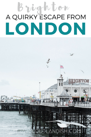 Looking for a great day trip from London? From the Brighton Pier to the vintage shops to the impressive vinyl shops, check out our favorite spots and the very best things to do in Brighton.
