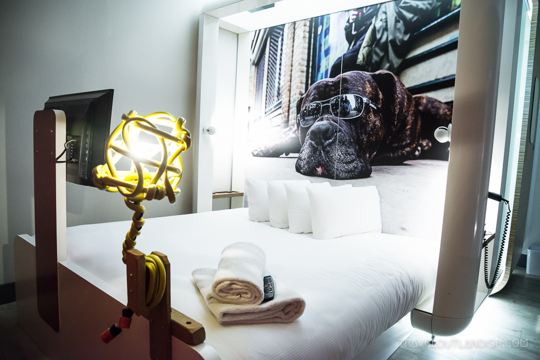 Unusual Hotels in London - Qbic Bed