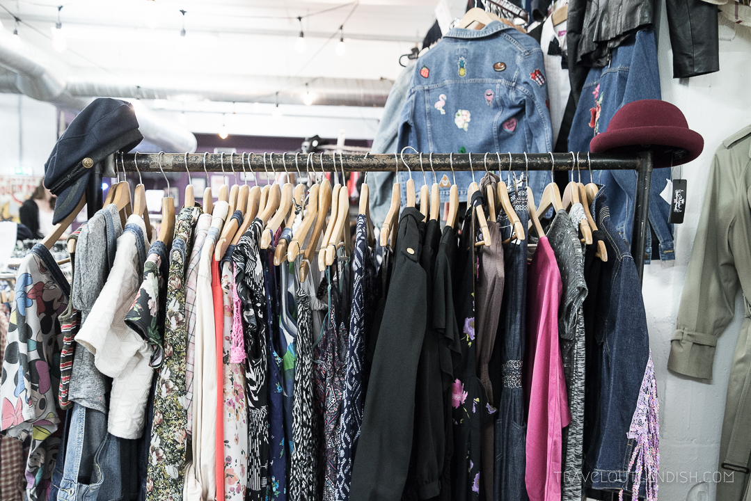 Unique things to do in London - Vintage Shopping