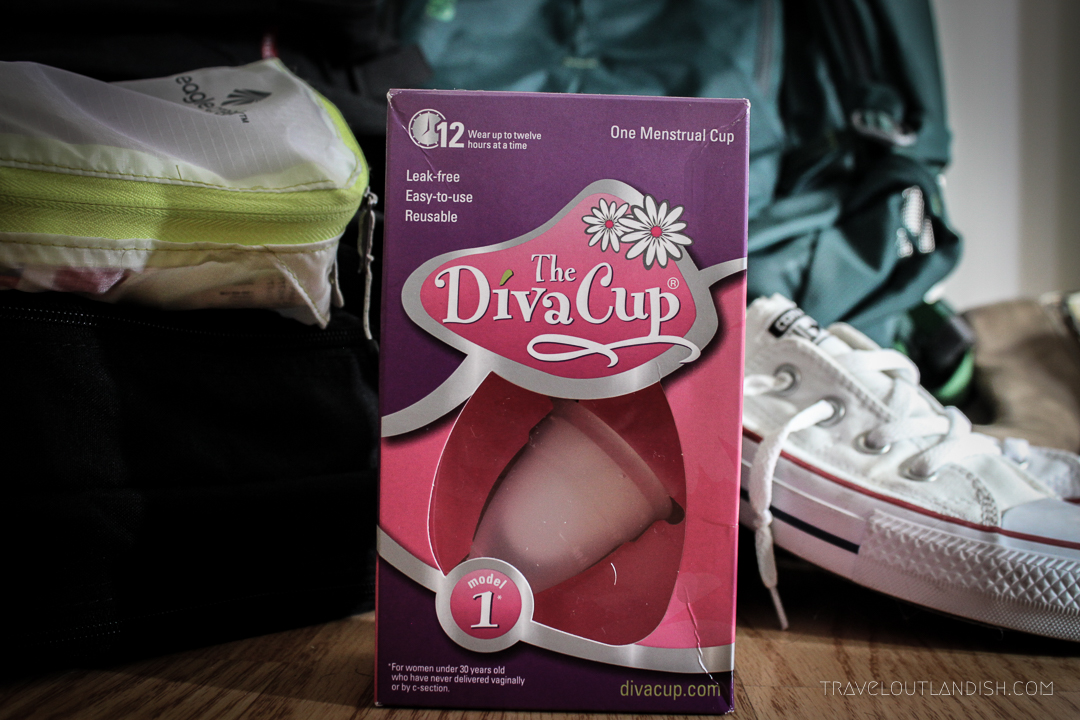 Women's Health for Travel - DivaCup Menstrual Cup Review