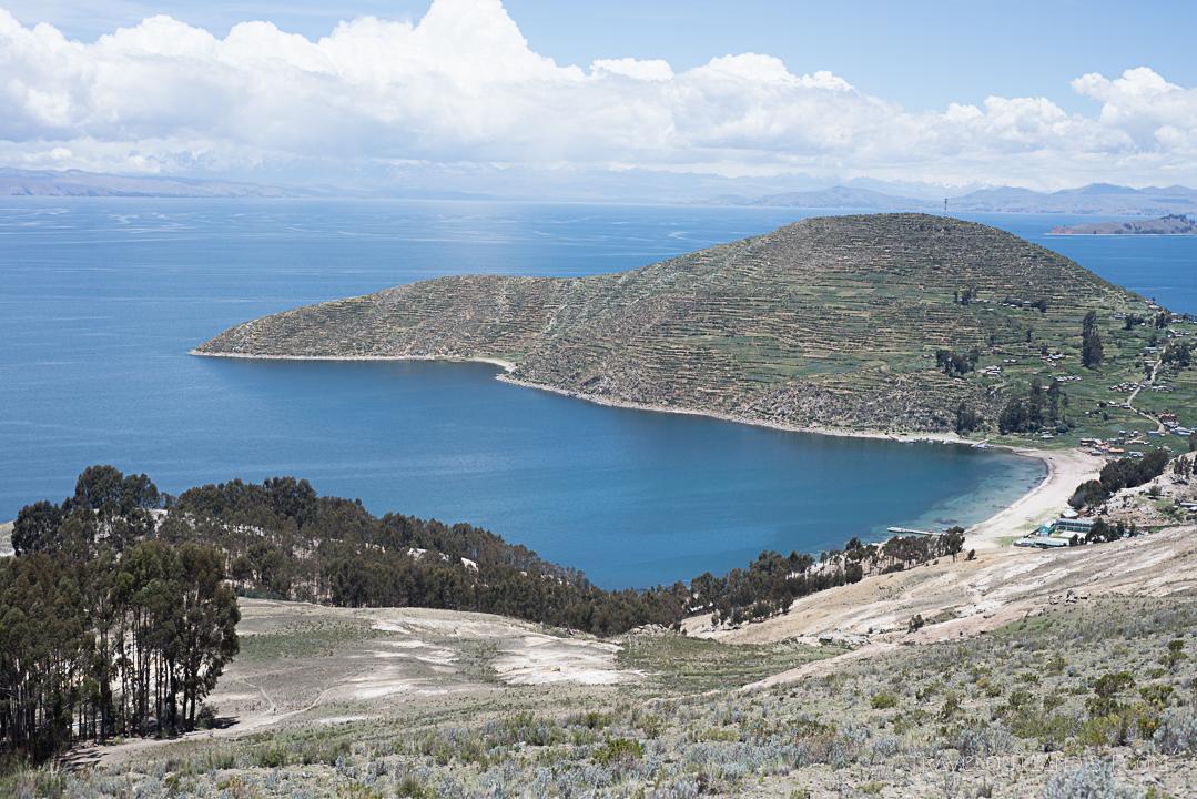 Bolivia - View of Isla del Sol