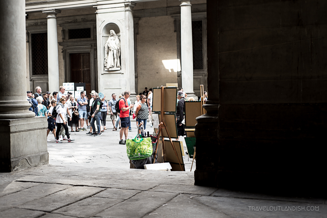 Secret Florence - Caricature Sketch Artists in Florence
