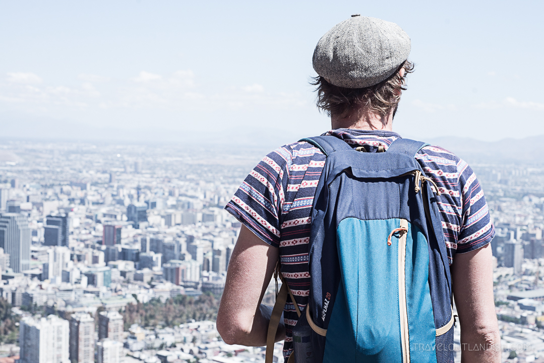 Fun Things to do in Chile - View of Santiago