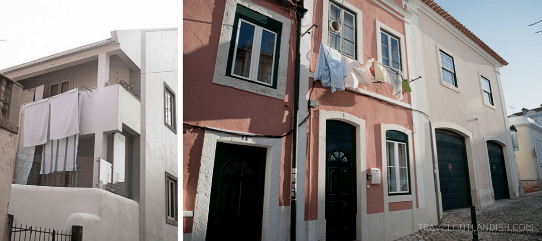 Street Photography - Laundry in Cascais