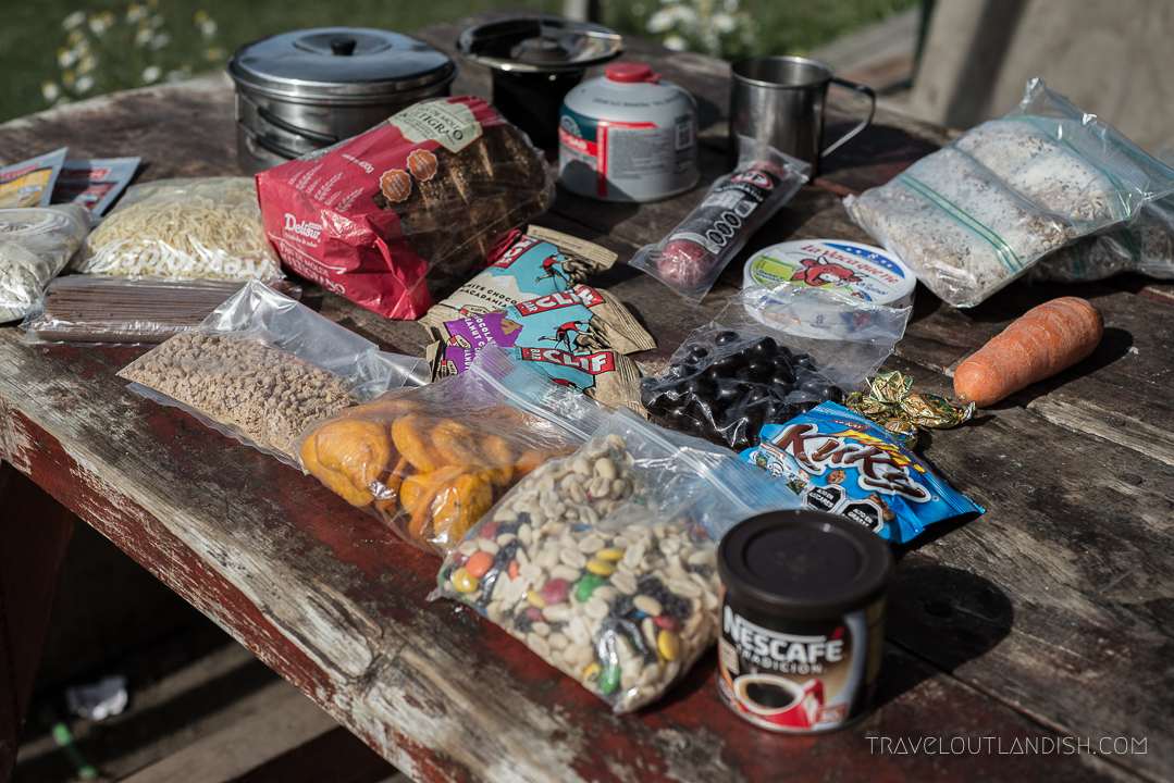 Photos of Torres del Paine - Food