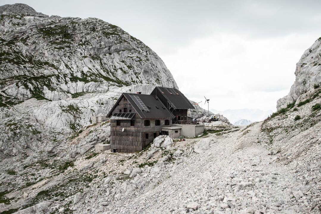 Dolic Hut in Triglav