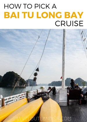 Want to travel to the bay less traveled? Here's everything you need to know for picking a Bai Tu Long Bay cruise.