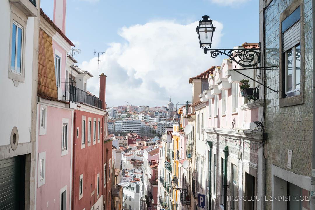 Photos of Portugal - Lisbon Street Scene